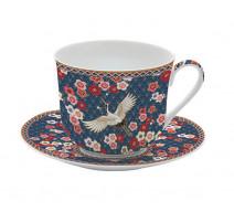 Coffret 6 tasses à café motifs orientaux, Easy Life