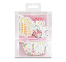 24 Caissettes + 24 Cake Toppers Licorne, ScrapCooking