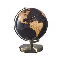 Mappemonde 25 cm noire, Mascagni Casa