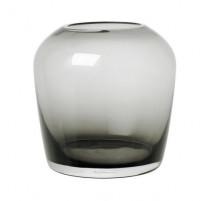 Vase H17 cm Leta Smoke, Blomus