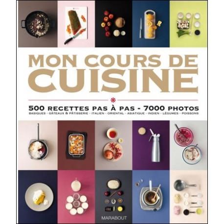 """Livre """"Mon Cours de Cuisine"""", Hachette"""