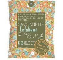 Savonnette Exfoliante quinoa pur miel, mas du roseau