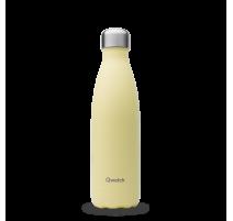 Bouteille isotherme Pastel Citron givré, Qwetch