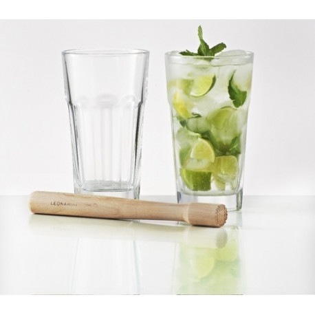 achat vente set 2 verres cocktail mojito de l onardo. Black Bedroom Furniture Sets. Home Design Ideas