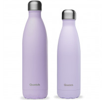 Bouteille isotherme Pastel Lilas, Qwetch