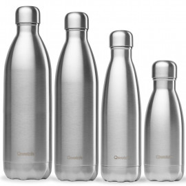 Bouteille isotherme inox, Qwetch