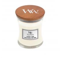 Bougie parfumée coco tonka Woodwick