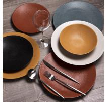 Service vaisselle Vesuvio Safran, Table Passion