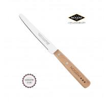 Couteau de table 11cm Classic Lame crantée Hêtre, Nogent***