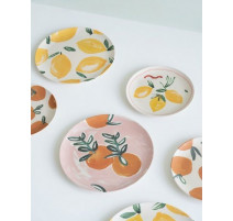 Assiette plate bambou collection Sicilian, Urban Nature