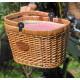 Panier Picnic vélo chantilly vichy rouge, Les Jardins de la Comtesse