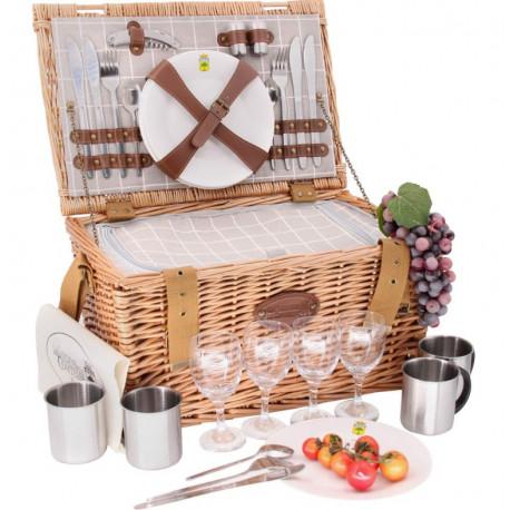 Panier picnic concorde, Les Jardins de la Comtesse