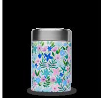 Boîte repas isotherme Flora bleu, Qwetch