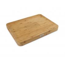 Planche à découper Cut&Carve™ Bamboo, Joseph Joseph