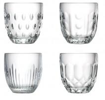 Set de 4 gobelets 27 cl Troquet, La Rochère