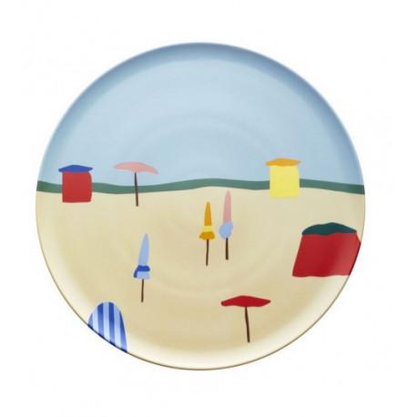 Plat à tarte 32 cm Destination Mer, Guy Degrenne - GUY DEGRENNE