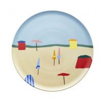 Plat à tarte 32 cm Destination Mer, Guy Degrenne