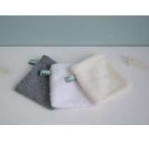 Lot de 3 mini gants démaquillants lavables, Benenota