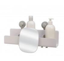 Grande étagère de douche avec miroir amovible EasyStore, Joseph Joseph