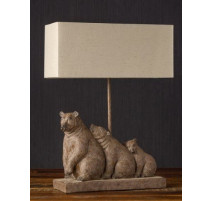 Lampe Famille ours, Chehoma