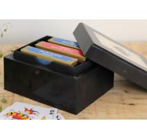 Boîte de 3 jeux de carte, Chehoma