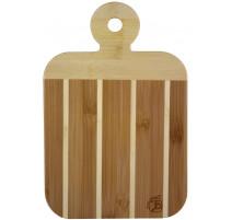 Planchette à découper bicolore en bambou, Totally Bamboo