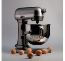 Robot socle Artisan 6.9L argent, KitchenAid