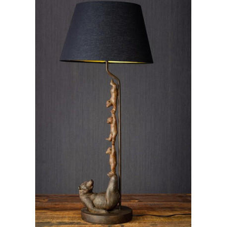 Lampe Famille ours acrobates, Chehoma