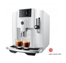 JURA Machine Automatique à Café E8 Piano White EB