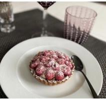 Assiette à dessert collection Noizay, Bruno Evrard