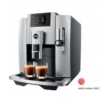 JURA Machine Automatique à Café E8 Moonlight Silver EB