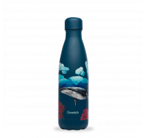 Bouteille isotherme Banquise Baleine, Qwetch