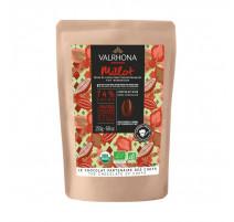 Chocolat noir bio Millot 74 %, Valrhona