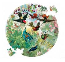 Puzzle 500 pièces Hummingbirds, Eeboo