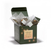Christmas tea vert en sachets, Dammann Frères