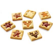 Emporte-pièces Voilà Cookie Winter Holiday, Silikomart