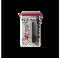 Boîte à cacao hermétique Conquistador, Derrière la porte