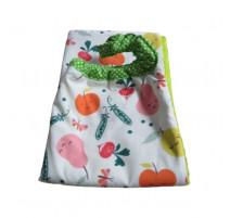 Serviette élastiquée Légumes, Les Petits Pinpins