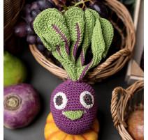 Hochet Carotte en Crochet, Myum