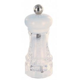 Moulin à sel céramique blanc, Marlux