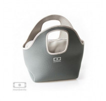 Sac isotherme Pop Up gris/gris, monbento