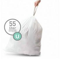 Sacs poubelle 55L-U, Simplehuman