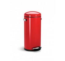 Poubelle Retro Rouge 30L, simplehuman