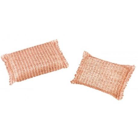 Lot de 2 éponges en fil de cuivre, Redecker