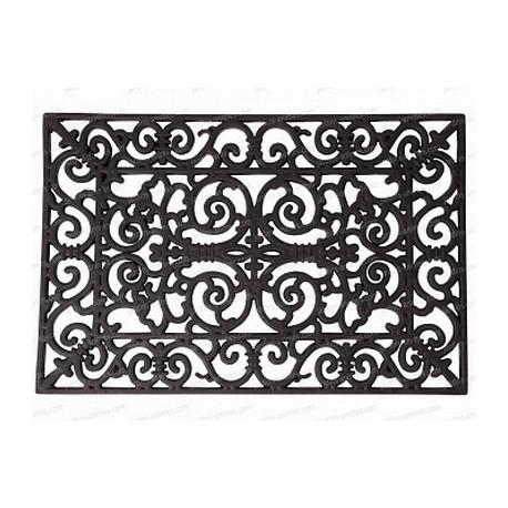 Paillasson rectangulaire en caoutchouc de Esschert Design