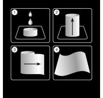 Rince-doigts / lingettes compressées, Napkin Cool
