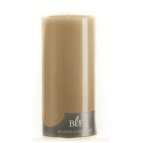 Bougie cylindrique taupe 15cm, Bougie La Française