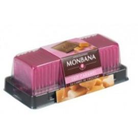 Carré chocolat lait caramel x24, Monbana
