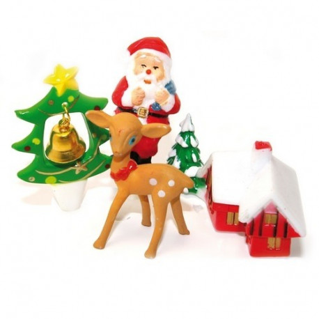 Set 4 accessoires de Noël, ScrapCooking