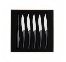 Coffret 6 couteaux carbone quartz ,Guy Degrenne